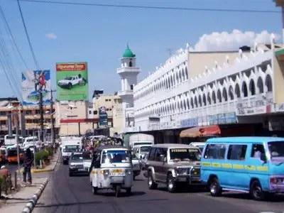Mombasa on the way back from Malindi Marine Park