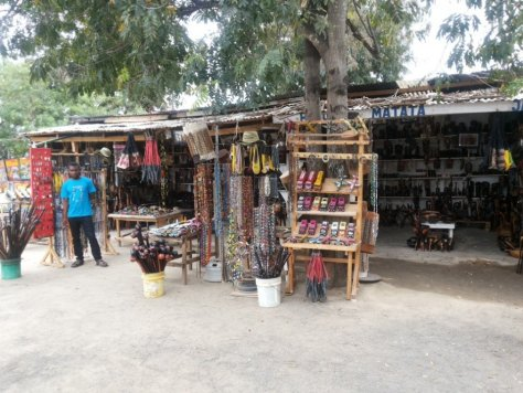 Crafts at Kobil Restaurant, Chalinze on the way to mikumi national park