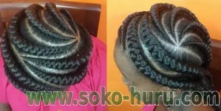 (Can Be Done at Kenyan Hair Styles & Braids by Eva Nairobi)