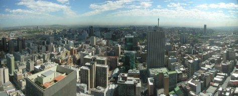 View of North Johannesburg from the Carlton Centre
