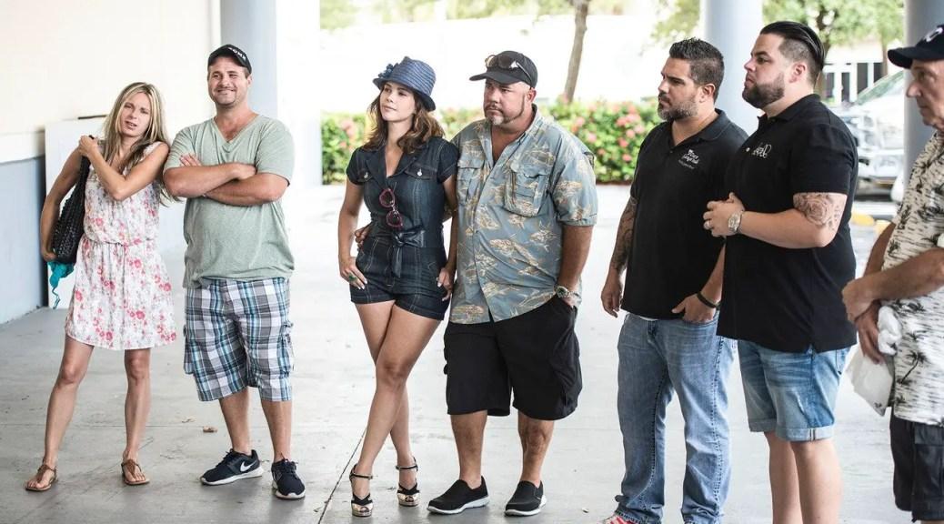 The Cast of Storage Wars Miami including Lindsey Atz