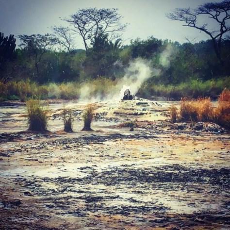 Female Hot Spring, Sempaya Springs, Semuliki National Park, Uganda