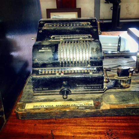 Brunsviga Manual Calculator, Nairobi Railway Museum