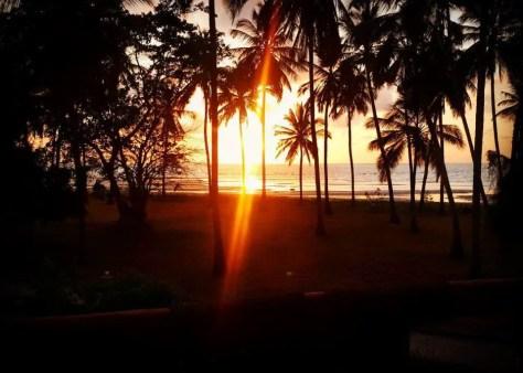Sunrise at Saadani National Park, Tanzania not Holy Crepe Kololo