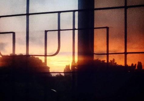 Sunset outside my Window, Dar es Salaam, Tanzania