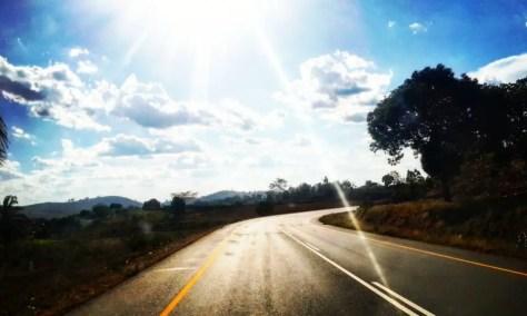 Driving through Korogwe
