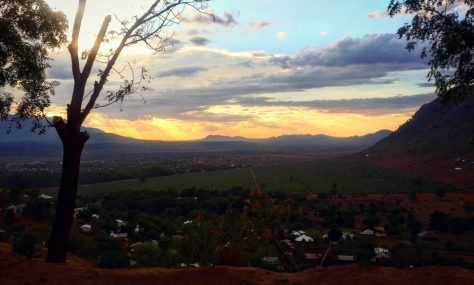 Sunset, Driving through the Usambara Mountains, Tanga
