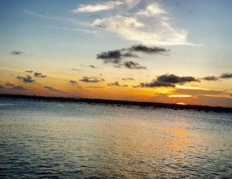 Sunset at Coral Beach, Dar es Salaam