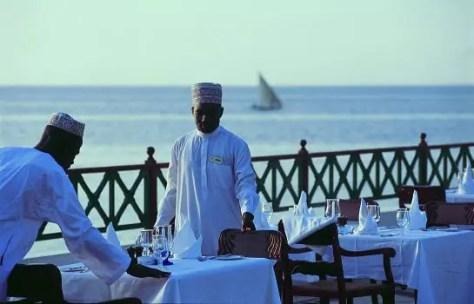 The Zanzibar Serena in Stone Town