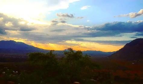 Sunset in the Usambara Mountains