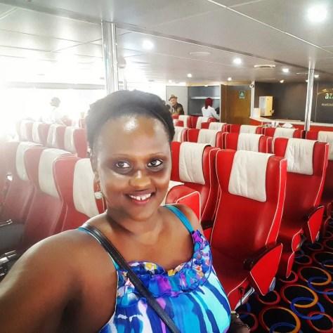 Getting to Matemwe Hotels: Biche in the Azam ferry to Zanzibar