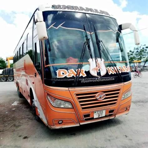 Bus from Dar es Salaam to Kilwa
