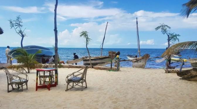Boats at Mahaba Beach