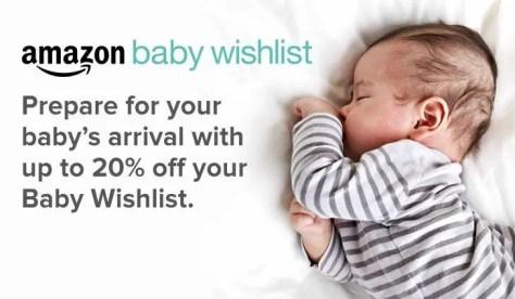 Baby Wishlist Amazon UK