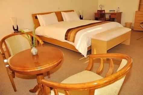 Room at Virunga Hotel