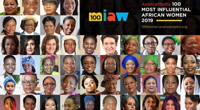 Africa's 100 Most Influential Women 2019