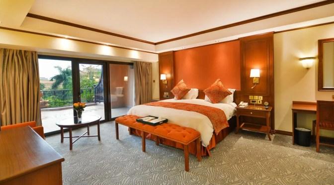 A room at the Kampala Serena Hotel