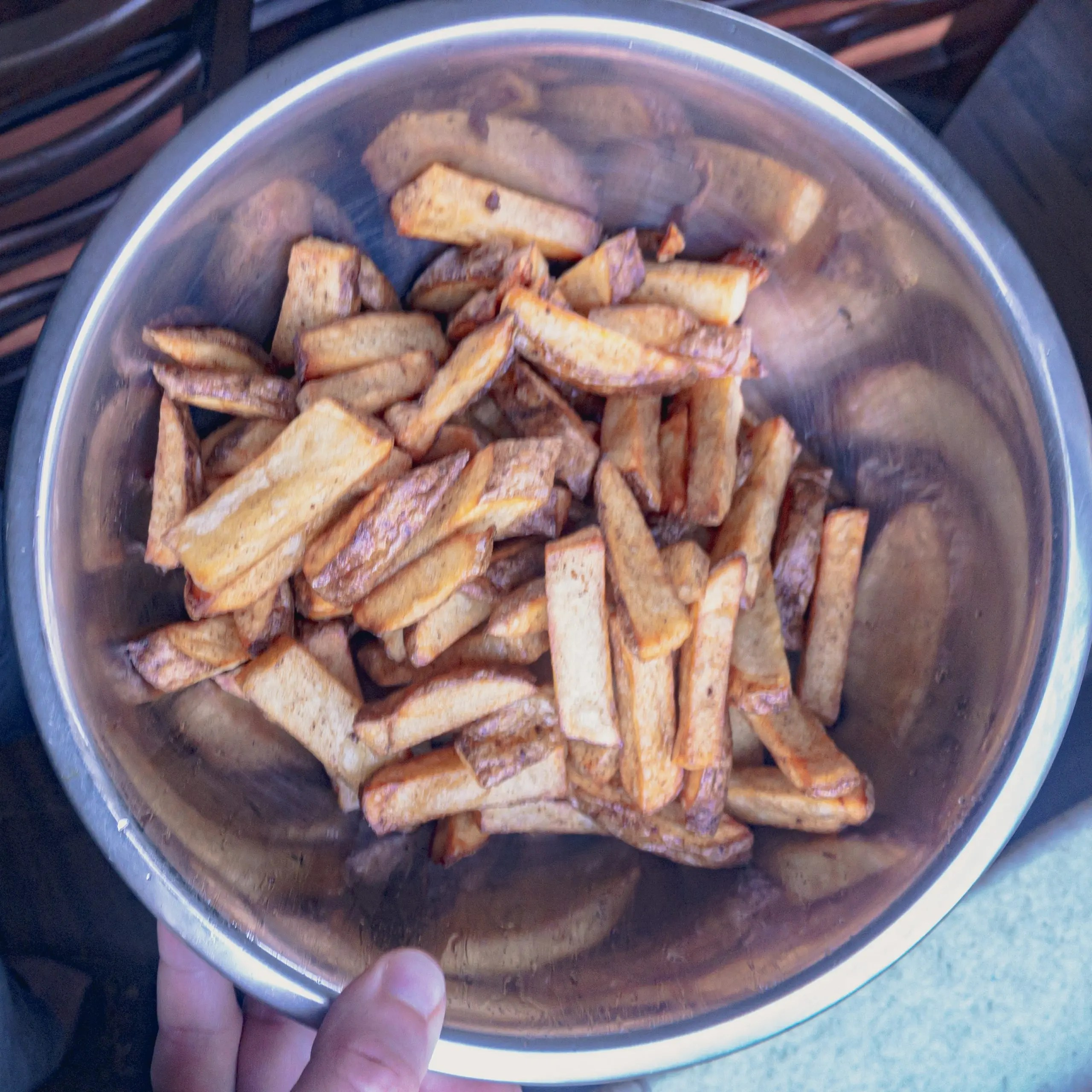 3 Ingredient Cajun Fries 2nd Fry