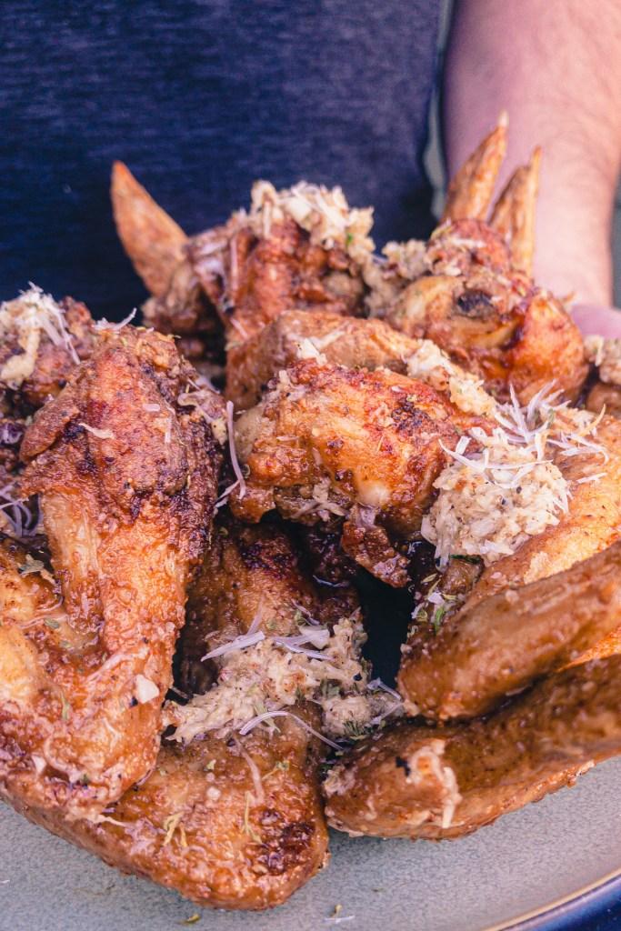 Crispy Garlic-Parmesan Wings 1