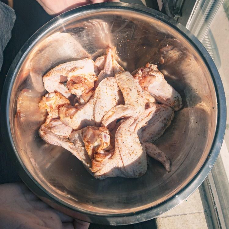 Garlic-Parmesan Seasoned Wings