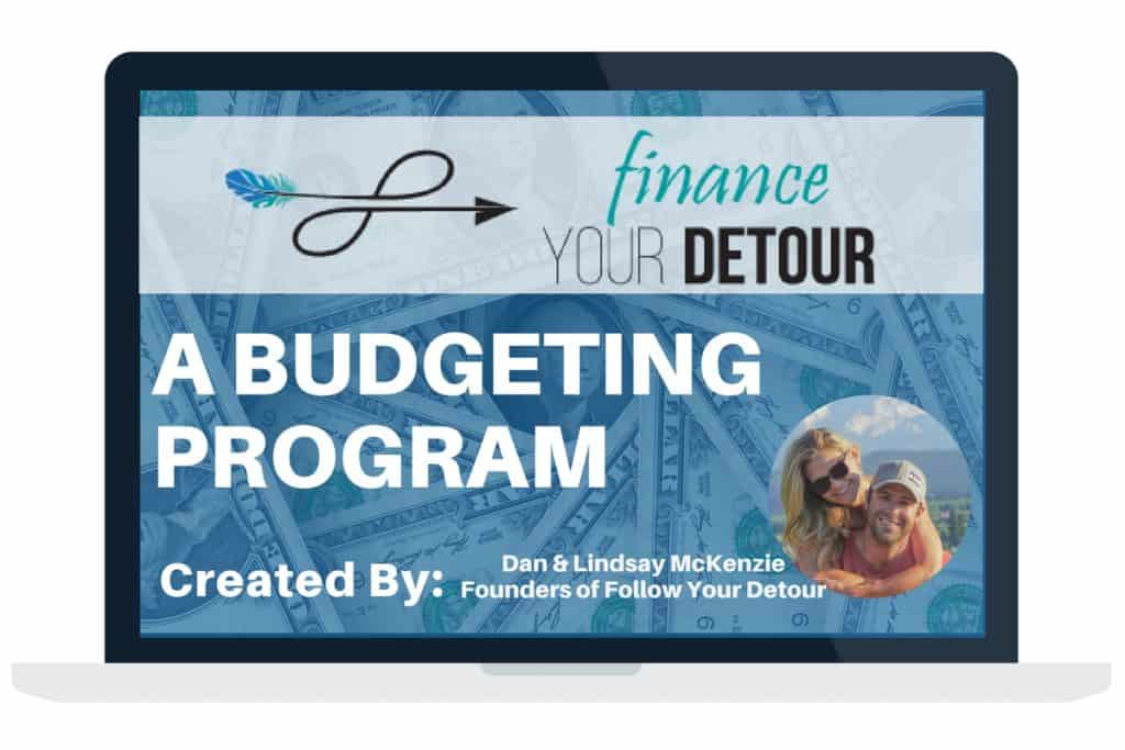 Finance Your Detour is an engaging 4-step program designed to help you achieve your financial dreams.