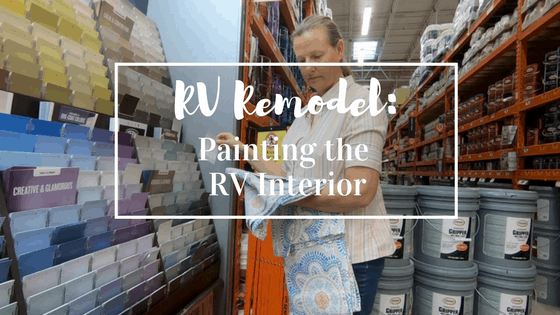 RV Remodel: Painting Your RV Interior Is An Easy Way to Personalize It