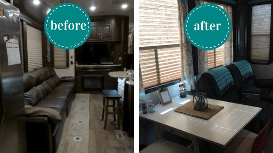Rv Remodel Costs And Before And After Pictures Of The