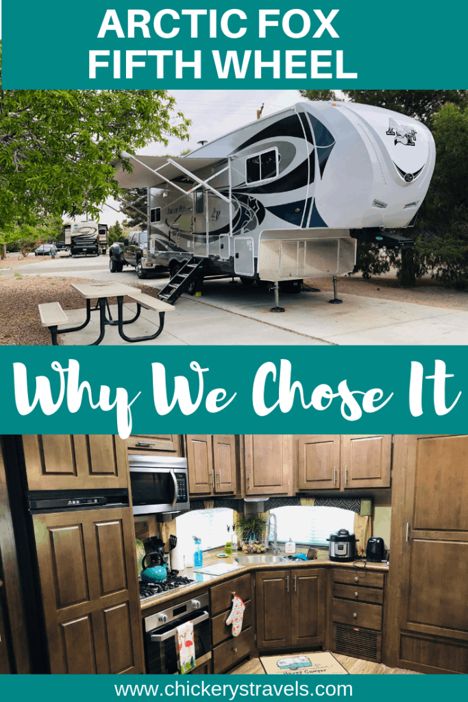 Learn why we love our Arctic Fox Fifth Wheel. From the quality construction to the true all seasons insulation, it is the perfect RV for all your camping adventures. We chose the 27-5L model, which at under 30' can fit in most national and state park campgrounds too.