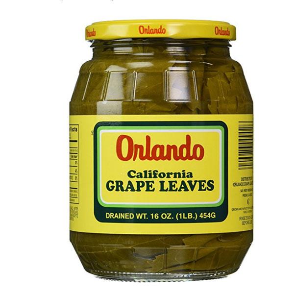 Orlando California Grapes Leaves Chickfoodtv