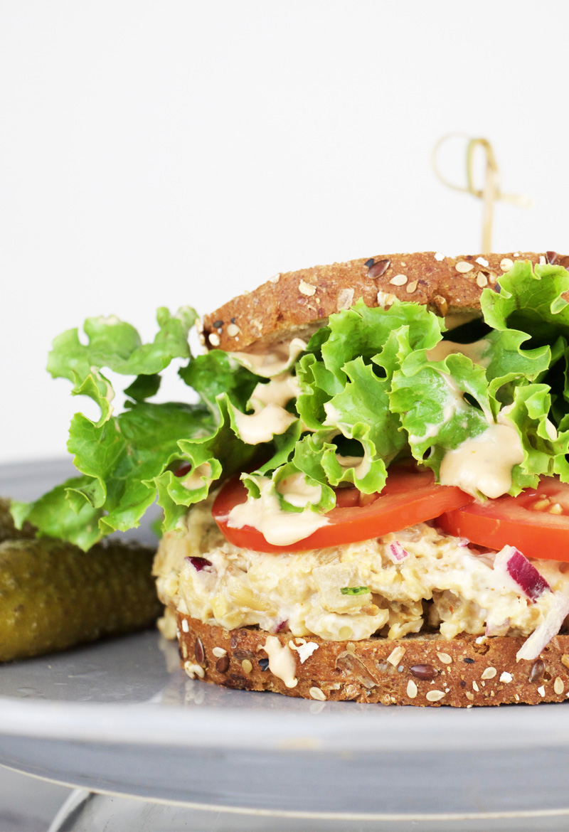 Chickpea no chicken salad chickfoodtv i am a huge fan of the chickpea for its versatility texture and flavor chickpeas easily become so many yummy things from salad toppings to taco filling forumfinder Images