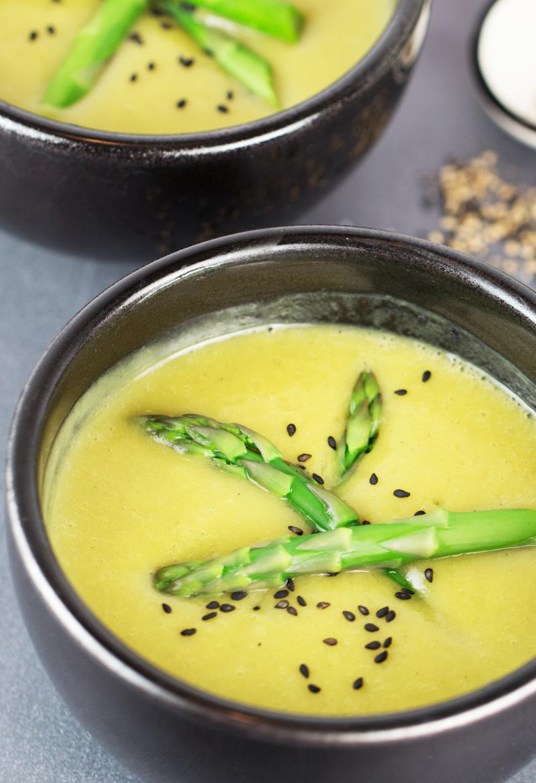 asparagus soup (instant-pot recipe)