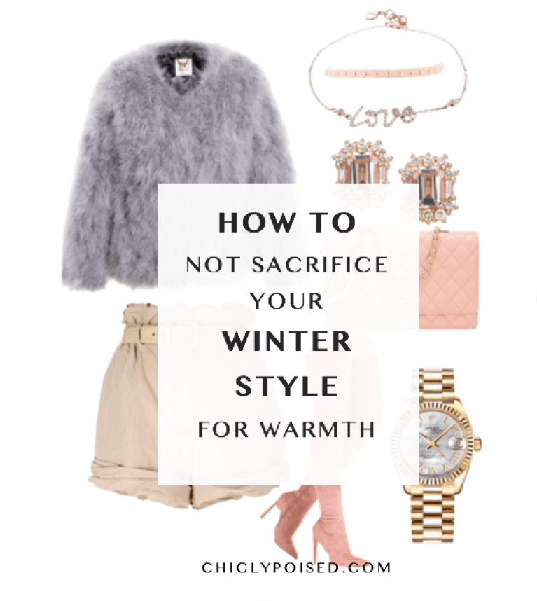 How not to sacrifice warmth for style | Chiclypoised | Chiclypoised.com | Like Suscribe & Share