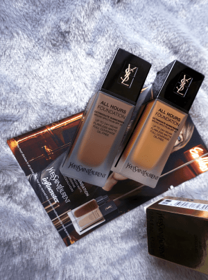 Influenster Reviews YSL All Hours Foundation Review Voxbox | Chiclypoised | Chiclypoised.com | YSL All Hours Foundation B90 and B80