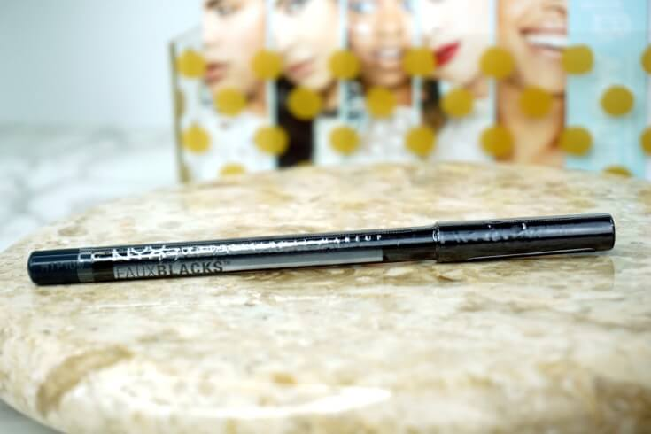Ipsy Reviews December 2017 Ipsy Glam Bag   Faux Blacks Eyeliner in Onyx By NYX Professional Makeup Eyeliner   Chiclypoised.com