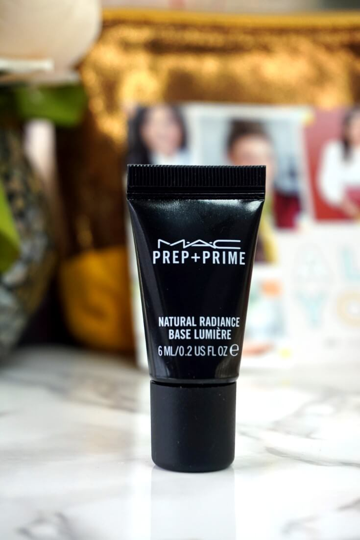 Ipsy Reviews November 2017 Ipsy Glam Bag   Prep + Prime Natural Radiance By Mac Cosmetics   Chiclypoised.com
