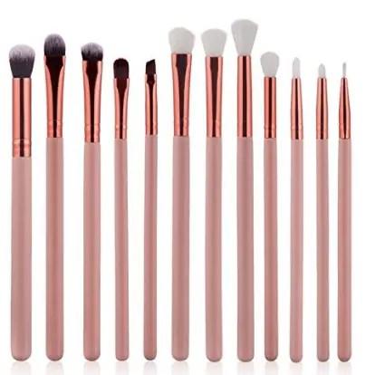 Start 12 pcs:Sets Makeup Brush Set for Eye Shadow Foundation Eyebrow Lip | Cheap Eyeshadow Brush Sets | Chiclypoised.com