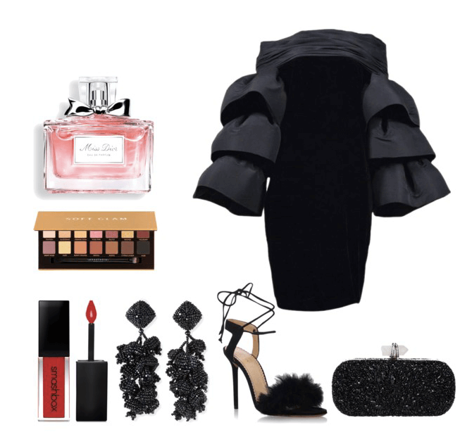 Date Night Bad and Boujee Outfit Idea | Chiclypoised.com