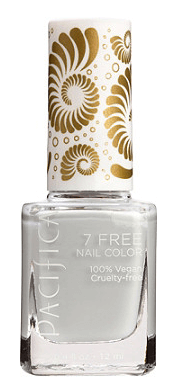 30 White Nail Polishes Under 10 Dollars | Pacifica 7 Free Nail Polish Collection Chance of Clouds Soft White | Chiclypoised.com