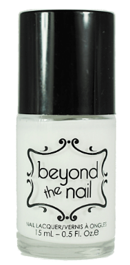 30 White Nail Polishes Under 10 Dollars | White Nail Polishes | Beyond the nail Bright White Creme Nail Polish | Chiclypoised.com