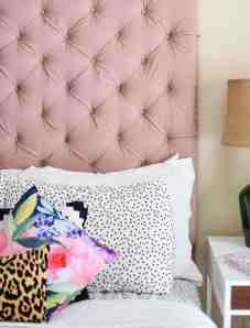 Diy Tufted Headboard Over Sized Edition Chic Misfits