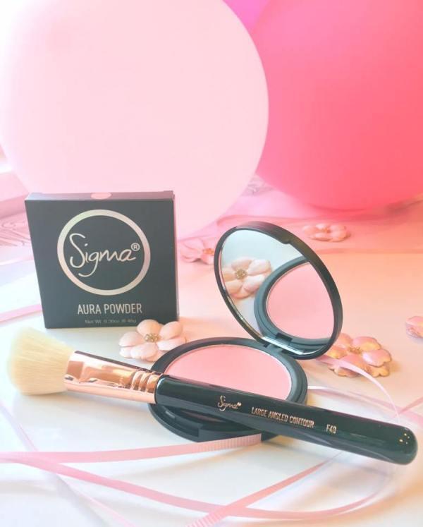 Pink blush from Influenster