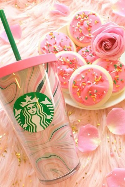The Most Chic Coffee Accessory: A Pink Starbucks Tumbler