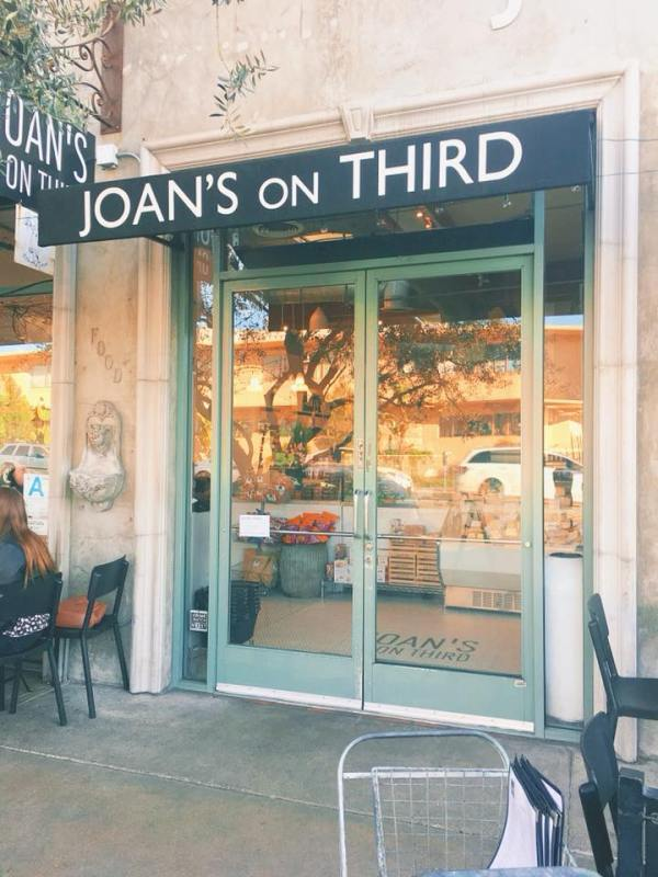 Another picture of the front of Joan's on Third.