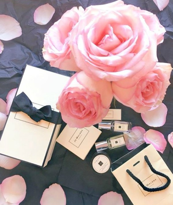 A flatlay of Jo Malone products