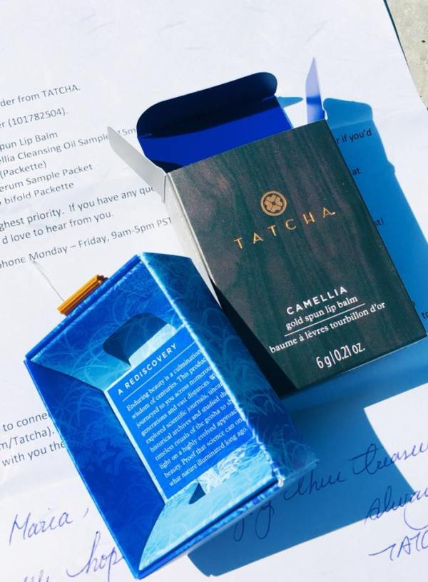 The last Tatcha picture of the box