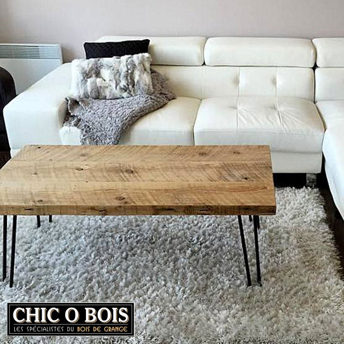 Table Salon En Bois Beautiful Table Basse Bois Gris Clair