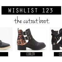 Coolest. Cutout Boots