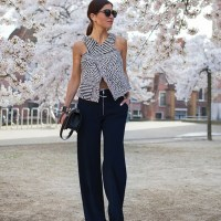 Cool Crop Top. Negin Mirsalehi