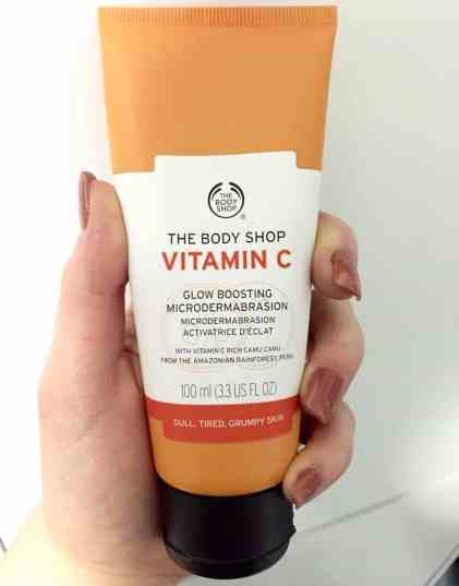 The Body Shop Microdermabration vitamin C scrub