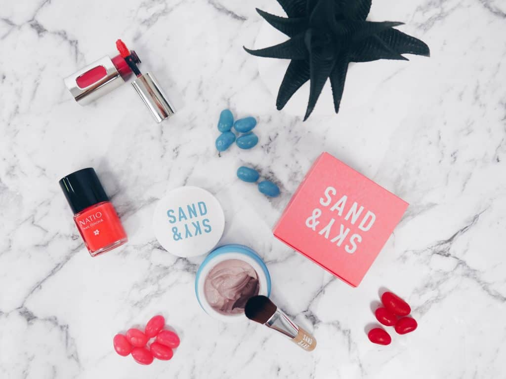 Sand and Sky Pink Clay Mask